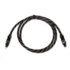 High Quality 1M Toslink Digital Optical Fiber Audio Cable 3FT OD 6.0 For DVD CD