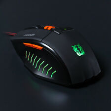 2500DPI 7D Programmable LED Optical USB Illuminated Gaming Mouse Color Changed