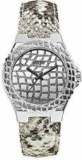 Guess Women's Silver-Tone Exotic Sport Watch - U0227L1