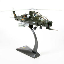 1:48 Scale Diecast Military Helicopter WZ-10 Fighter Model Airplane Armor Toys