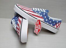 Vans Era Van Doren Stars Stripes Checker VN-0ZULFP1  Men's Size: 11