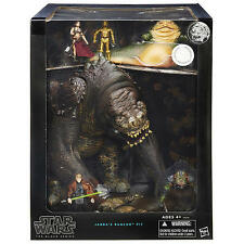 Star Wars The Black Series Jabba's Rancor Pit Figure Set Sealed Case SDCC 2015