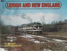 LEHIGH and NEW ENGLAND: Camelbacks & Steam, to ALCo FA-1s & RS-2s (NEW BOOK)