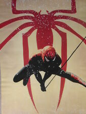 Spiderman Oil Painting 28x16 NOT print/poster.Box Framing Available Goblin Rhino
