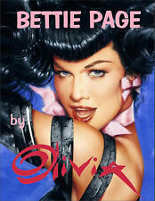 Bettie Page by Olivia - Signed by Olivia