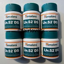 6 Jars x 60 Tablets Himalaya Liv.52 Liver 52 DS DOUBLE STRENGTH **UK SELLER**