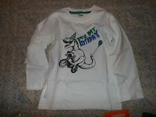 "NWT - Gymboree ""Hop n Roll"" long sleeved ""It's my Birthday"" dinosaur shirt - 3T"
