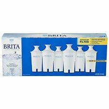 6-Pack Brita Pitcher Replacement Water Filters Original Retail Box Brand New