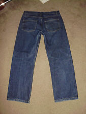 A.P.C Men's L'ANGLAISE Raw Selvedge 34 x 30 Straight Relaxed 100% cotton Supreme