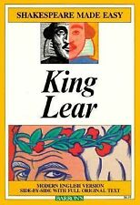 Acc, King Lear (Shakespeare Made Easy), Shakespeare, William, 0812036379, Book