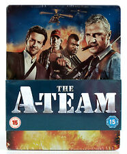 A-Team (Play Exclusive Steelbook) Blu Ray+DVD / New / Theatrical & Extended Cut