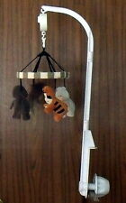 musical crib mobile lions, tigers and bears by glodal design excellent