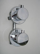 NEW ALL METAL, CHROME 4 WAY THERMOSTATIC SHOWER DIVERTER MIXER TAPS VALVE, 344N