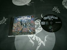 Space Griffon VF-9 Japanese Import Sony Playstation, PS2 And BC PS3's