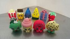 Fondant Shopkins -  (5 figures) Edible Birthday Cake/Cupcake decorations