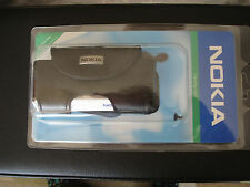 GENUINE Nokia LEATHER CASE Mobile 3310 3330 original cell phone pouch