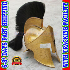 Spartan King Leonidas 300 Movie Helmet Replica gift for larp role play Costumes
