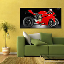 DUCATI 1199 PANIGALE S SPORT BIKE MOTORCYCLE POSTER 24x48in