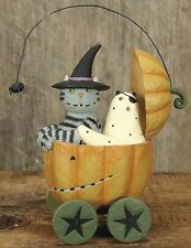 Williraye FRIGHT ON TIME Cat Ghost Pumpkin NEW