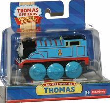 MOTORIZED BATTERY POWERED THOMAS Tank Engine Wooden Railway NEW IN BOX