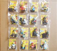 LEGO MINIFIGURE LOT LEGO SERIES 16 COMPLETE SET - 16 NEW, MINT 1in - 2in FIGURES
