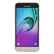 Virgin Mobile - Samsung Galaxy J3 Prepaid Cell Phone - Gold