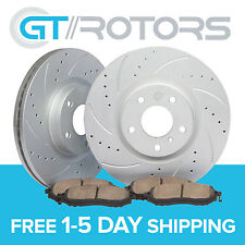 Front Brake Disc Rotors Ceramic Pads for Honda Civic 06 07 08 09 10 11 DX LX EX