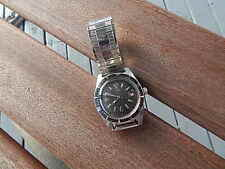 VINTAGE AVIA 17 JEWELS DIVERS WATCH W SWISS MOVEMENT KEEPS GOOD TIME INTL SALE