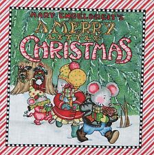 Fabric book panel, A MERRY LITTLE CHRISTMAS, Mary Engelbreit, mouse, holiday
