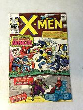 X-MEN #9 KEY ISSUE, 1965, JACK KIRBY, STAN LEE, AVENGERS, 1ST LUCIFER, NICE!!!!!