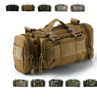 Outdoor Military Tactical Waist Pack Shoulder Bag Molle Camping Hiking Backpacg