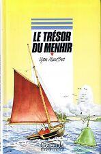 Le Trésor du Menhir * Yvon MAUFFRET * Cascade rageot 11 /13 ans Marin  Bretagne