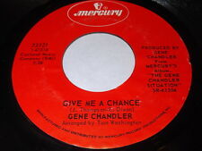 Gene Chandler: Give Me A Chance / Simply Call It Love 45 - Soul
