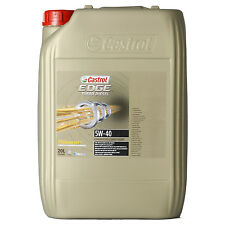 CASTROL EDGE TITANIUM FST TURBO DIESEL 5W-40 FULLY SYNTHETIC OIL 20 LITRE 20L
