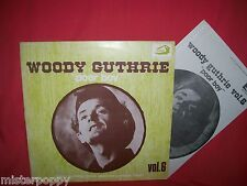 WOODY GUTHRIE Poor boy LP ITALY 1976 MINT- + Booklet Sonny Terry Cisco Houston
