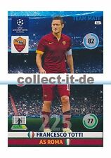 Panini Adrenalyn XL Champions League 14/15 - 222 - Francesco Totti - Base Card
