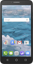 Cricket Wireless - Alcatel OneTouch Flint 4G with 16GB Memory Prepaid Cell Phone