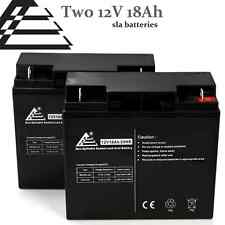 12V 18AH SLA Battery 2 Pack for Apc Smart-Ups 1400, 1500 [UB12180 Replacement]