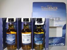 TALISKER Whisky Set 3 x 50 ml mini flaschen bottle miniature bottela STORM SKYE