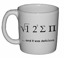 Math Nerdy Pi Geek Funny Coffee Tea Mug Cup Novelty Gag Gift Joke Nerd Engine