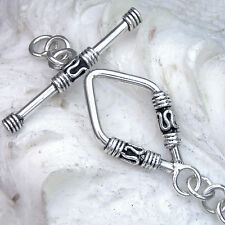 TG41 Toggle 39mm SILBER 925 Verschluss f. Kette u. Armband silver clasp 39mm