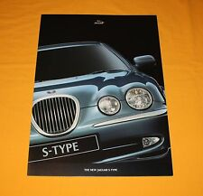 Jaguar S-Type 1999 Prospekt Brochure Depliant Catalogue Prospetto  Prospecto