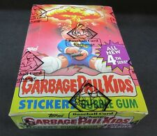 1986 Topps Garbage Pail Kids 4th Series Unopened Wax Box (Non X-Out) BBCE Purple