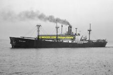 mc0704 - Polish Cargo Ship - Kopalnia Zabrze , built 1944 - photo 6x4