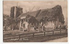 Essex, Chingford Old Church Postcard #1, A845