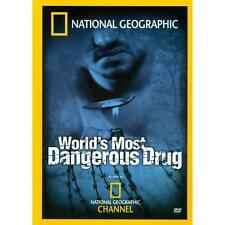 National Geographic - World's Most Dangerous Drug (DVD, 2007) Region 4