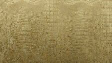 "Alligator Prints Suede Velvet Fabric 56"" Wide Upholstery Tablecloths By The Yard"