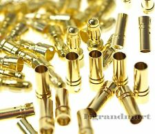 10 Pairs 3.5mm Gold Bullet Connector Plug Male & Female for RC Battery ESC Motor