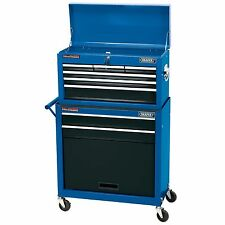 Draper Two Drawer Roller Cabinet And Five Drawer Tool Storage Chest - 51177
