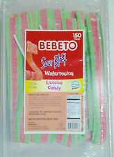 """Sour Watermelon Candy Belts 150 count """"ON SALE"""" With Free Shipping"""